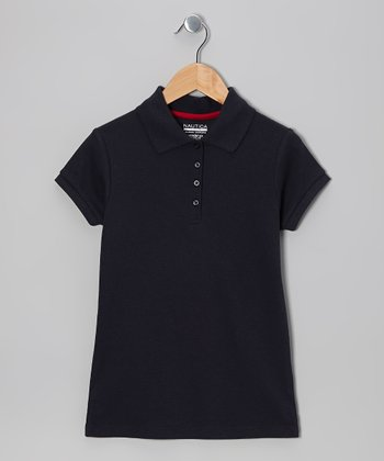 Navy Uniform Polo - Girls