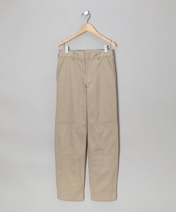 Khaki Cell Phone Pants - Boys