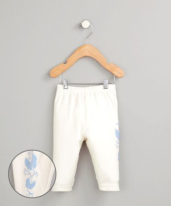 White Butterfly Pants - Infant