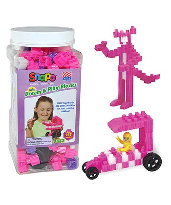 Pink & Purple Dream & Play 275-Piece Block Set