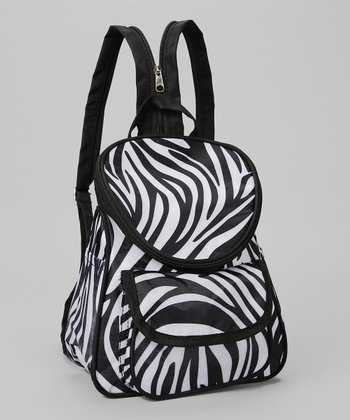 Black & White Zebra Backpack