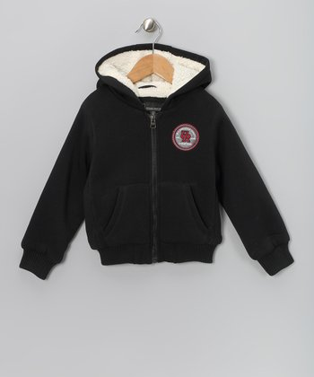 Black Fleece Hoodie - Toddler & Boys