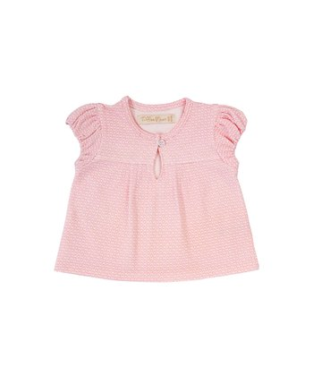 Marshmallow Ditsy Gypsy Top - Infant & Toddler