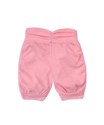 Raspberry Ruched Pants - Infant & Toddler