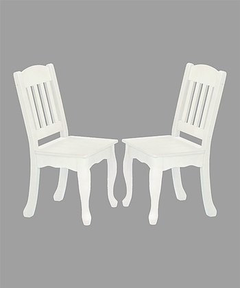 White Windsor Chair - Set of Two