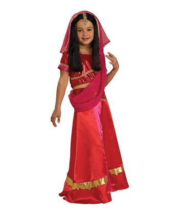 Bollywood Princess Dress-Up Set - Girls