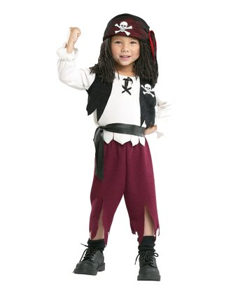 Pirate Captain Dress-Up Set - Toddler & Kids