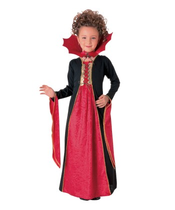 Gothic Vampiress Dress-Up Set - Girls