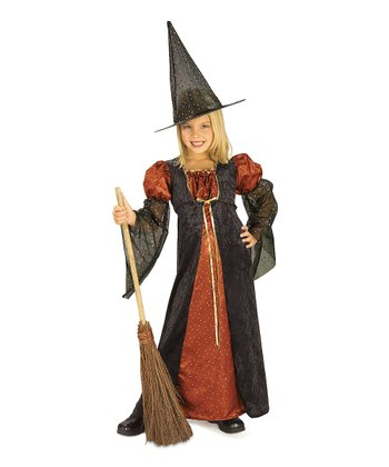 Glitter Witch Dress-Up Set - Kids