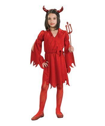 Devil Girl Dress-Up Set - Girls