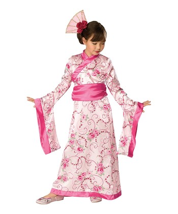 Cherry Blossom Princess Dress-Up Set - Girls