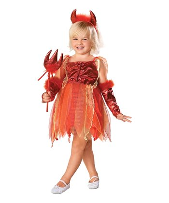 Devil Diva Dress-Up Set - Toddler