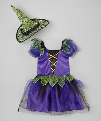 Spider Witch Dress-Up Set - Toddler