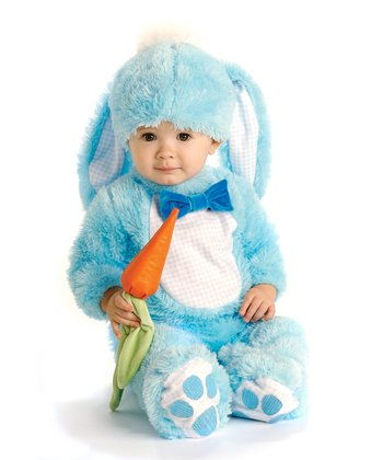 Blue Handsome Lil' Wabbit Dress-Up Set - Infant