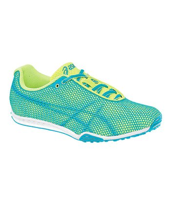 Limeade & Turquoise GEL-Dirt Diva 4 Track & Field Shoe - Women