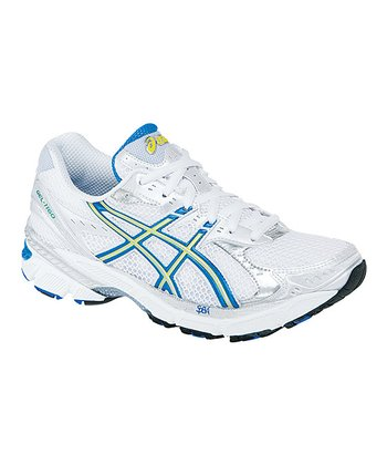 White & French Blue GEL-1160 2A Running Shoe - Women