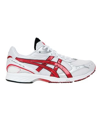 White & Flame GEL-Tarther Performance Running Shoe - Men