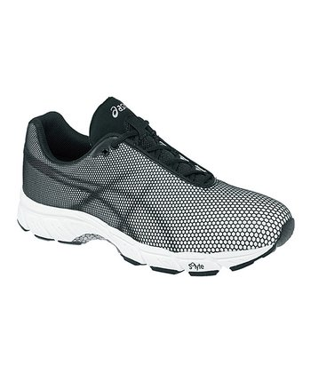 White & Black GEL-Speedstar 5 Performance Running Shoe - Men