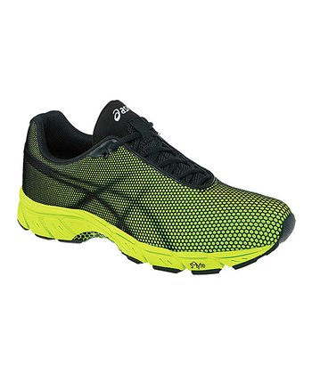 Lime & Black GEL-Speedstar 5 Performance Running Shoe - Men