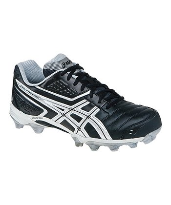 Black & Silver GEL-Provost Low Field Hockey Shoe - Men
