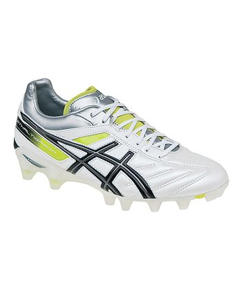 Pearl White & Black Lethal Tigreor 4 IT Soccer Shoe - Men