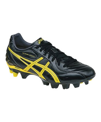 Black & Wattle Lethal Stats Soccer Shoe - Men