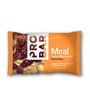 Oatmeal Raisin Whole Food Meal Bar - Set of 12