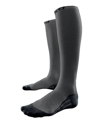 Gray 2XU Race Compression Socks - Men