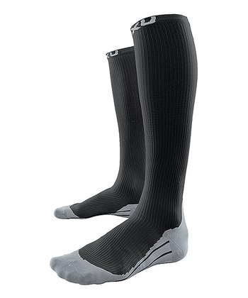 Black 2XU Race Compression Socks - Men