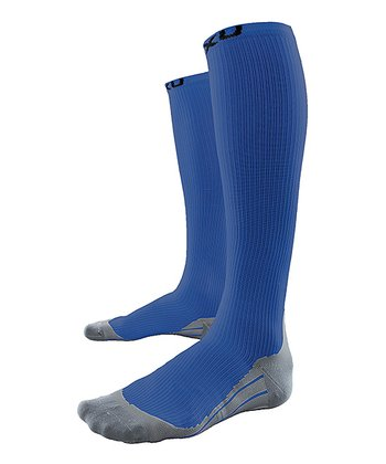 Blue 2XU Race Compression Socks - Women