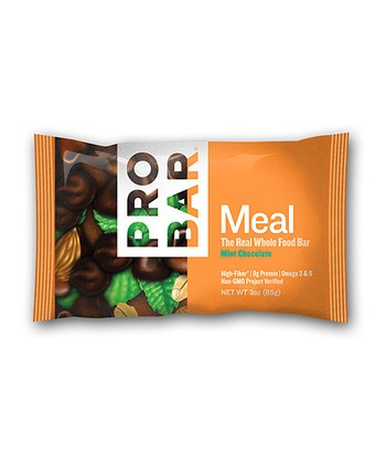 Mint Chocolate Whole Food Meal Bar - Set of 12