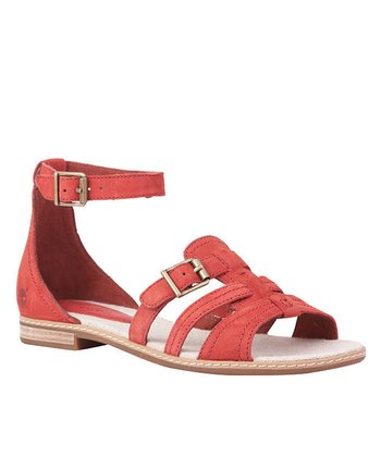 Dark Red Earthkeepers Darien Sandal