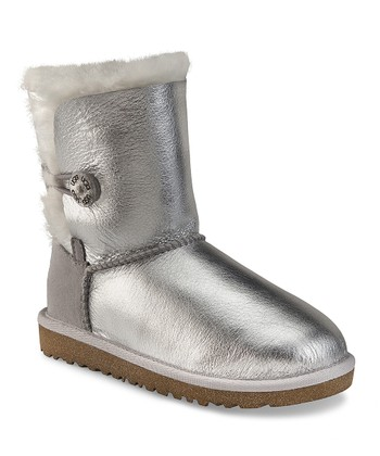 Sterling Bailey Button Metallic Boot