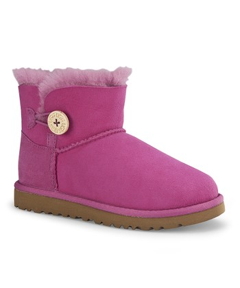 Raspberry Sorbet Mini Bailey Button Boot