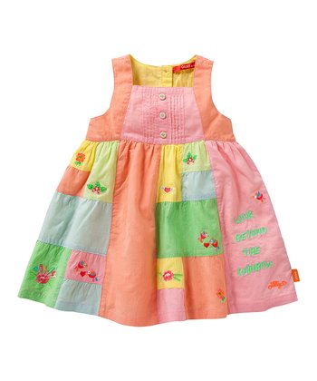 Rainbow Drizzle Dress - Infant, Toddler & Girls