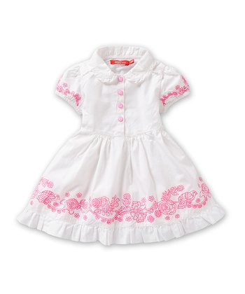 White Droom Dress - Infant, Toddler & Girls