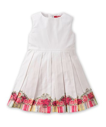 White Dekuka Dress - Toddler & Girls
