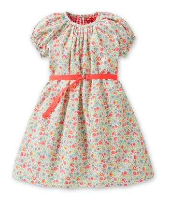 White Doris Dress - Infant, Toddler & Girls