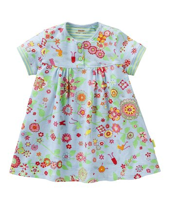 Blue Mirabelle Tulip Dress - Infant, Toddler & Girls