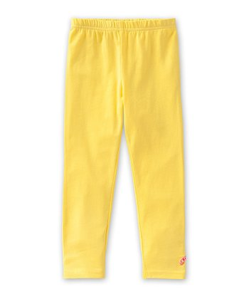 Yellow Tiska Leggings - Infant, Toddler & Girls