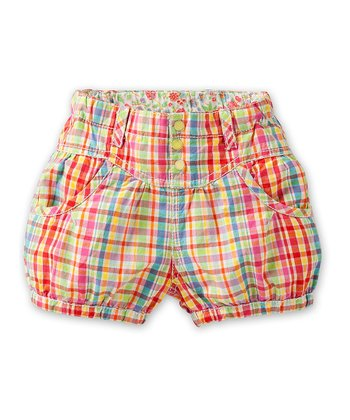 Rainbow Puzzle Shorts - Infant, Toddler & Girls