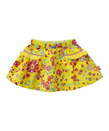 Yellow Mirabelle Scooby Skirt - Infant, Toddler & Girls