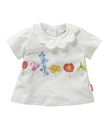 White Toosje Top - Infant