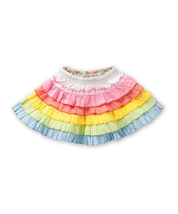 Pink Rainbow Sissi Skirt - Infant, Toddler & Girls