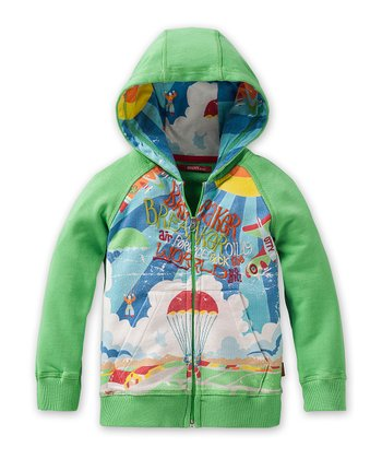 Green Harry Zip-Up Hoodie - Infant, Toddler & Boys