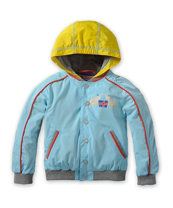 Blue Chameleon Jacket - Toddler & Boys