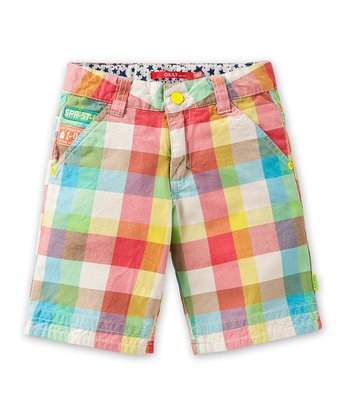 Pastel Prat Shorts - Toddler & Boys
