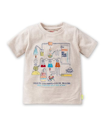 Beige 'Colorful-Color' To Tee - Toddler & Boys