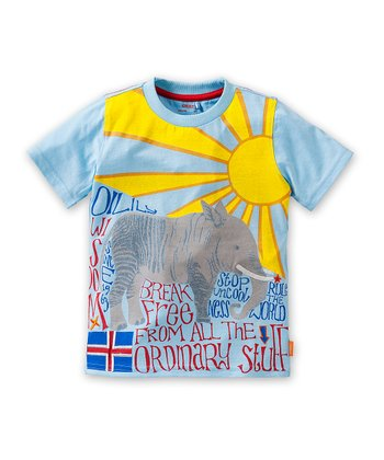 Blue 'Break Free' Tee - Infant, Toddler & Boys