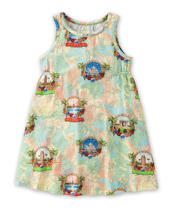 Green Trust Dress - Toddler & Girls